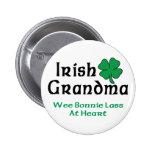 Irish Grandma Gift Pinback Button