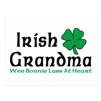 Irish Grandma Gift Postcard