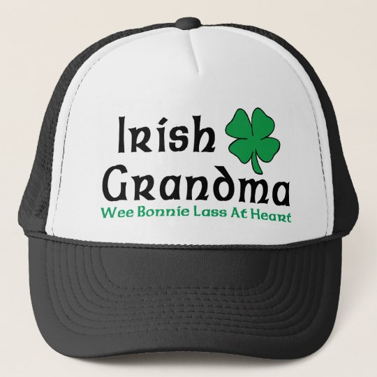 Irish Grandma Gift Trucker Hat