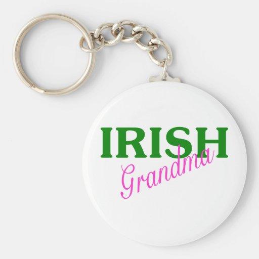Irish Grandma Key Chain