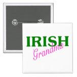 Irish Grandma Pinback Button