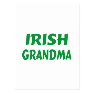 Irish Grandma Postcard