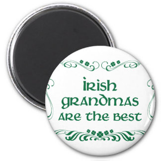 Irish Grandma T-shirt 2 Inch Round Magnet