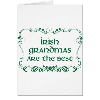 Irish Grandma T-shirt Card