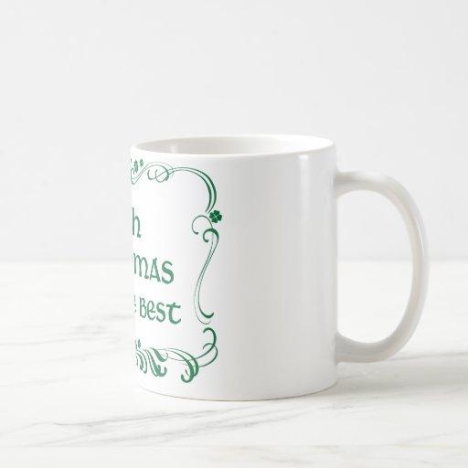 Irish Grandma T-shirt Classic White Coffee Mug