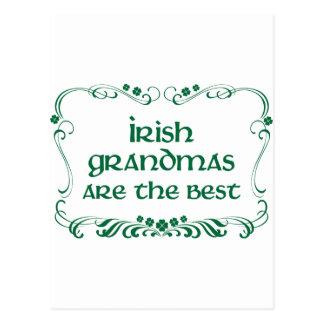 Irish Grandma T-shirt Postcard