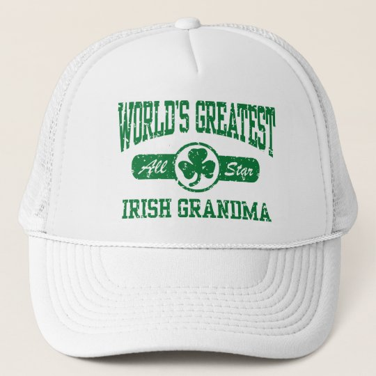 Irish Grandma Trucker Hat