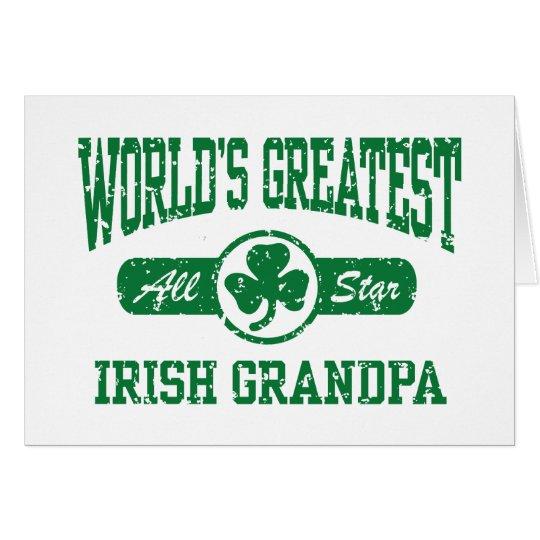 Irish Grandpa Card