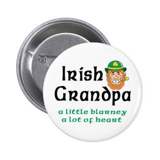 Irish Grandpa Gift Button