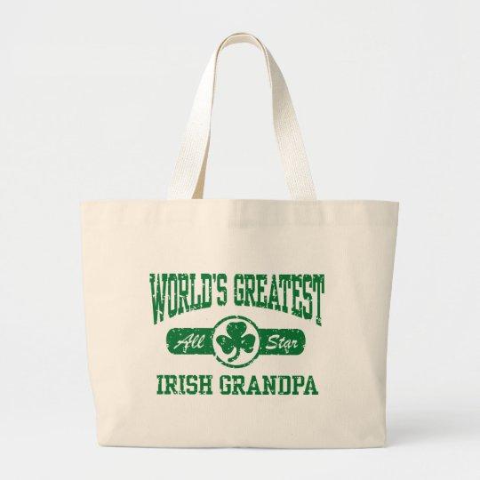 Irish Grandpa Large Tote Bag