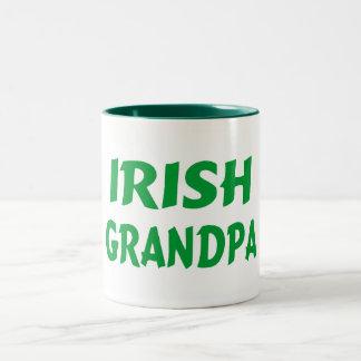 Irish Grandpa Two-Tone Coffee Mug