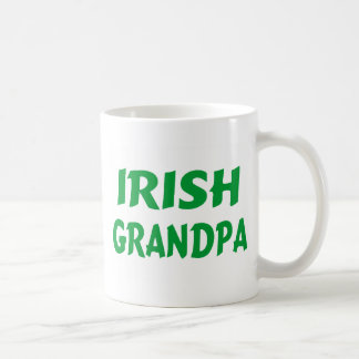 Irish Grandpa Classic White Coffee Mug