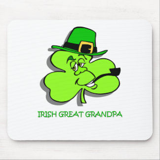 Irish Great Grandpa Mouse Pad