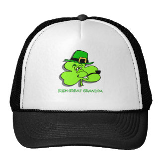 Irish Great Grandpa Trucker Hat