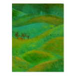 irish green and prayer postcard
