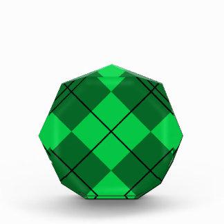 Irish Green Argyle Award