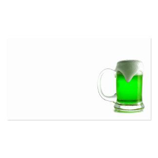 IRISH GREEN BEER DIGITAL REALISM PHOTOGRAPHY BUSINESS CARD