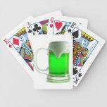 IRISH GREEN BEER DIGITAL REALISM PHOTOGRAPHY BICYCLE POKER CARDS