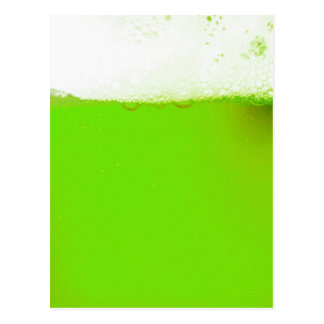 Irish Green Beer Postcard