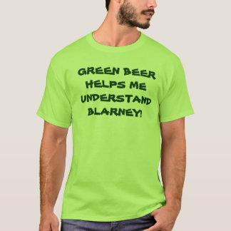 IRISH GREEN BEER tee