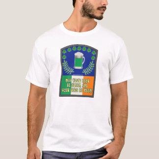 Irish Green Beer Toast T-Shirt