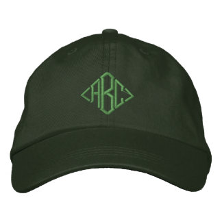 Irish Green Custom Monogrammed Embroidered Hat
