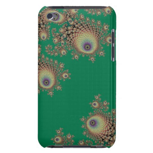 Irish Green Fractal Lace Mac Traps Case-Mate iPod Touch Case
