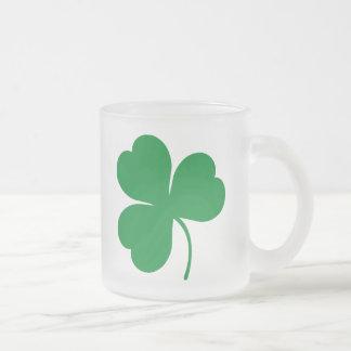 Irish Green Shamrock Clover Gift Mug