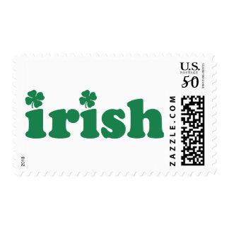 Irish (Green Shamrocks) Postage