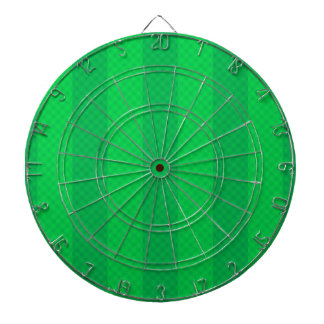Irish Green Stripes Dartboard With Darts
