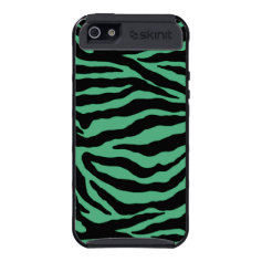 Irish Green Tiger Striped iPhone Case iPhone 5 Cases