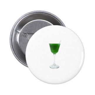 Irish Green Wine 2 Inch Round Button