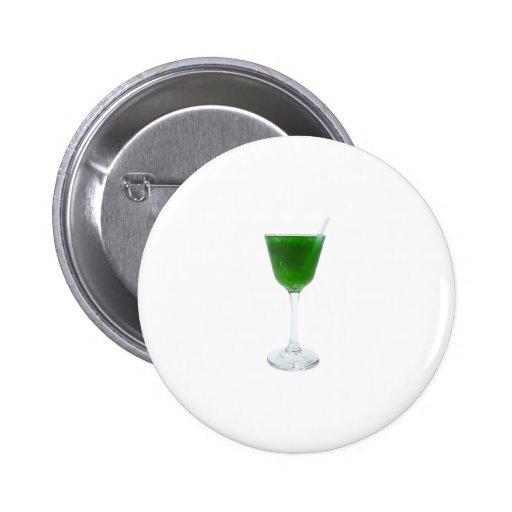 Irish Green Wine Button