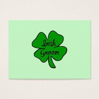 Irish Groom Business Card