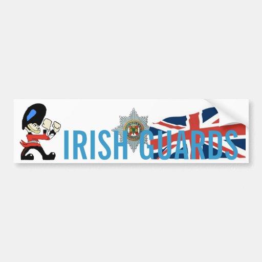 IRISH GUARDS BUMPER STICKER