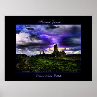 Irish Hallowed Ground Poster Print