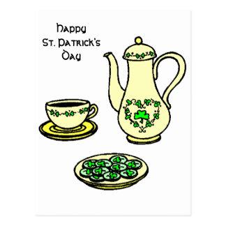 Irish Happy St. Patrick's Day Postcard