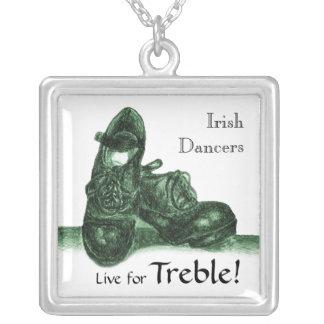 Irish Hard Shoes - Customizable Necklace