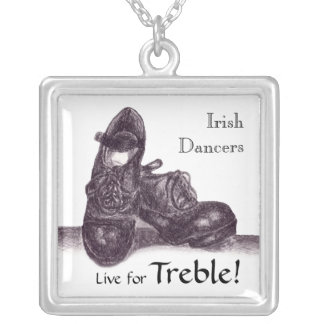 Irish Hard Shoes Necklace