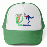 Irish Harp-Australia flag Trucker-Hat Trucker Hat