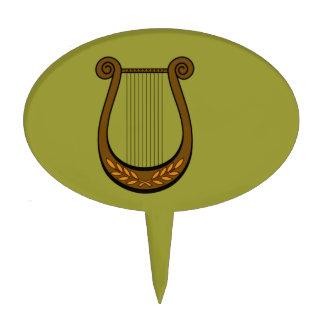 Irish Harp Cake Topper