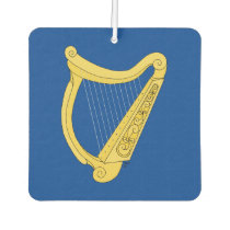 Irish Harp Car Air Freshener