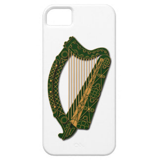 Irish Harp - Coat of Arms Ireland - Phone Case 1 iPhone 5 Case