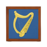 Irish Harp Desk Organizer