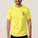 Irish Harp Embroidered T-Shirt