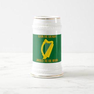 Irish Harp , ERIN GO BRAGH PROUD TO BE IRISH Mug