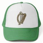 Irish Harp Hat