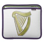 Irish Harp Ipad sleeve
