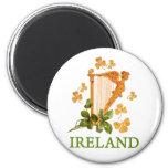 IRISH HARP MAGNET