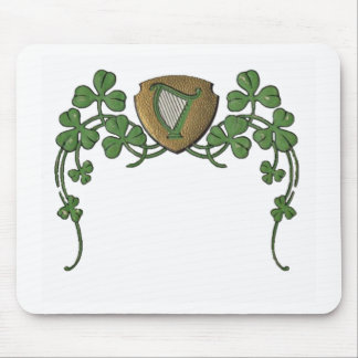 Irish Harp Mouse Pad